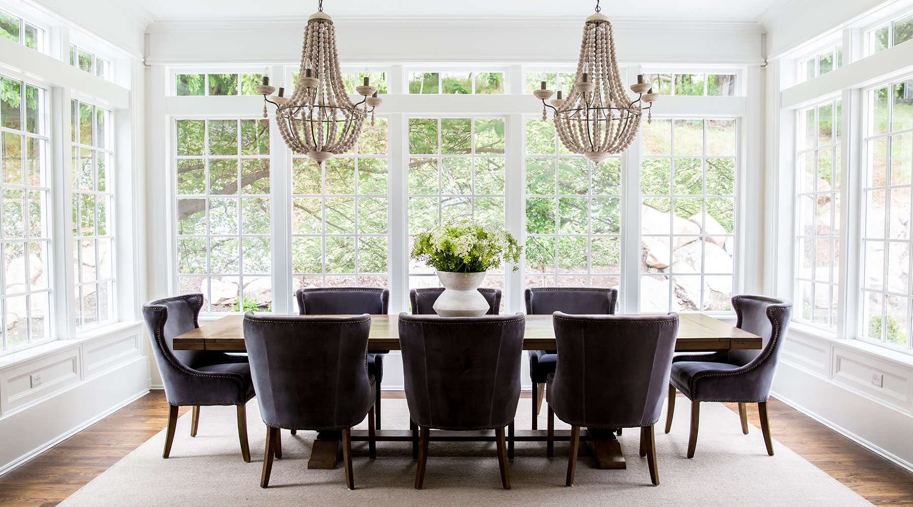 Hamptons Dining Room with a View
