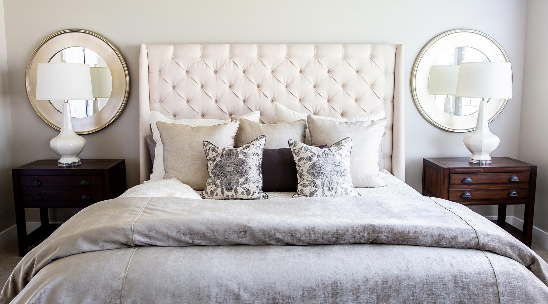 Farmhouse Master Bedroom Custom Design