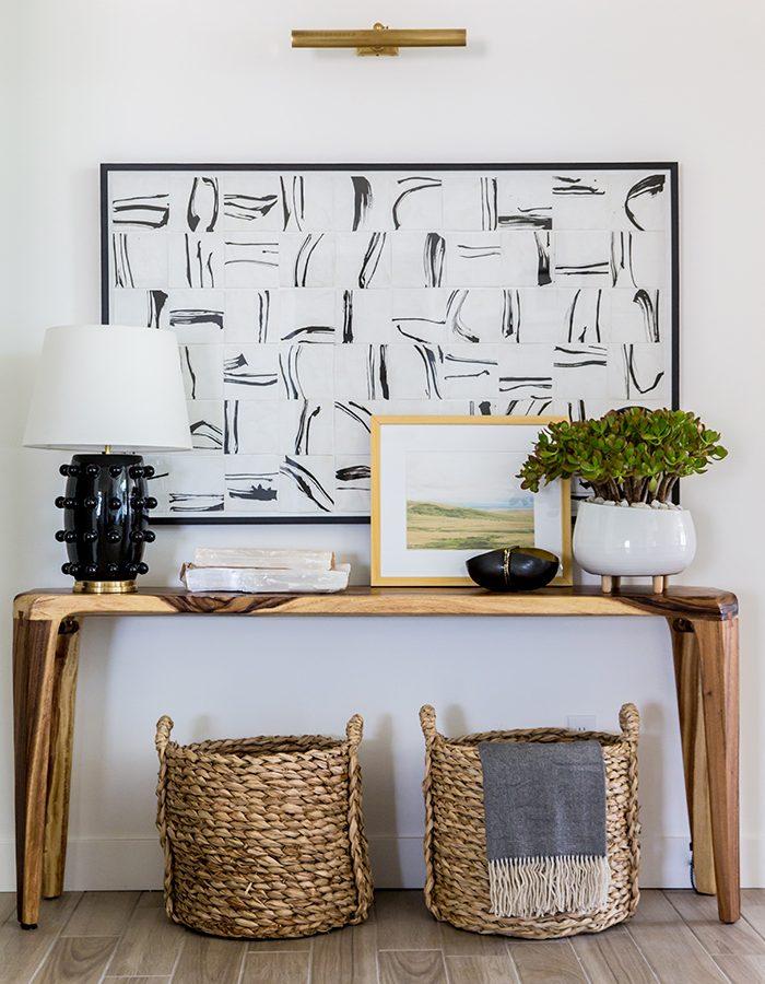 Custom Art & Entryway Interior Design at Parade of Homes