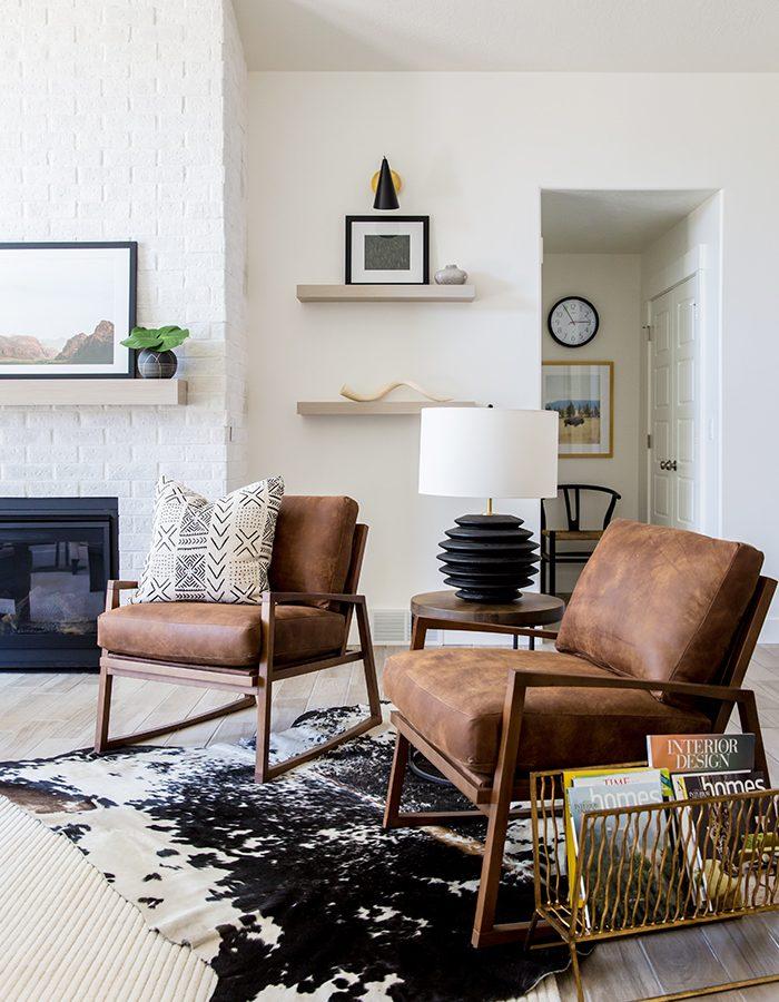 Farm House Leather Chair Designs