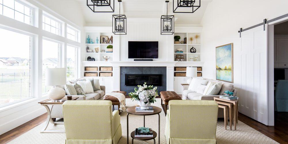 Formal Family Room Interior Design