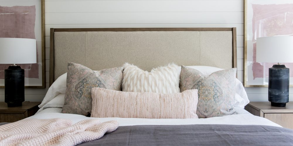 Master Bedroom Muted Design Colors