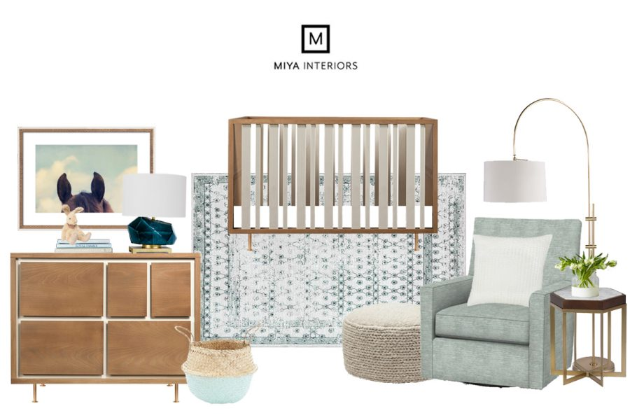 Miya Interiors eDesign Nursery