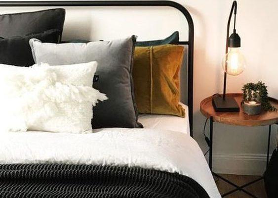 Classic Bedroom Design Wood Accents