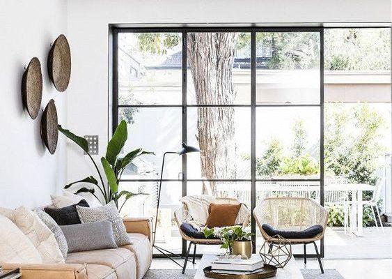 Open Living Room Full Window