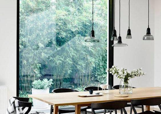 Dark Hue Dinning Room