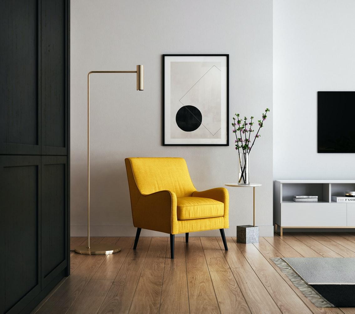 Dark Living Room Interior Design Ideas from Miya Interiors