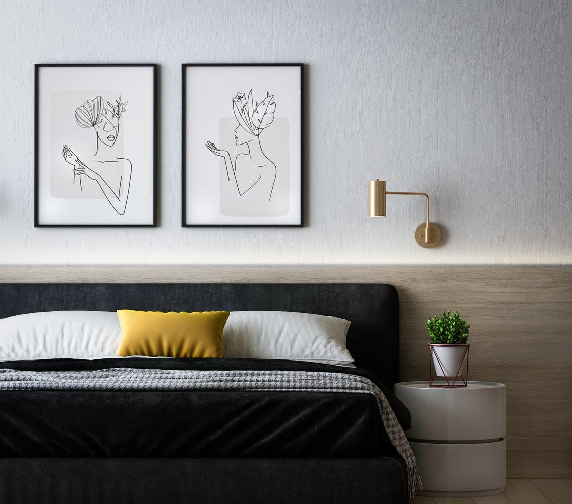 Dark Bedroom Interior Design Tips from Miya Interiors