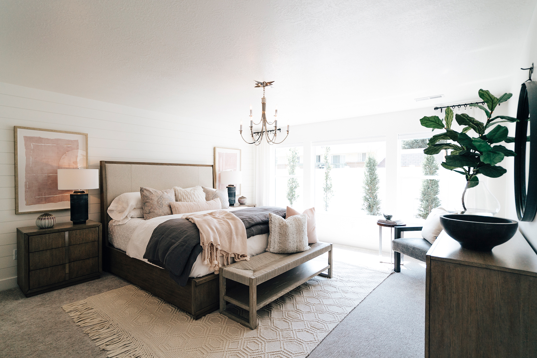 Northern Wasatch Parade of Homes Master Bedroom