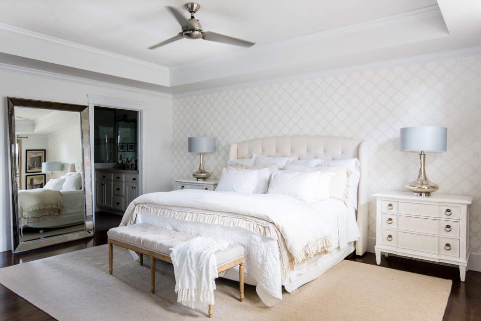 How To Layer Your Bedding The Right Way Miya Interiors
