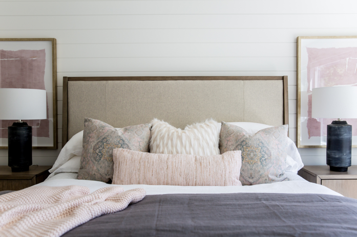 How to Dress a Bed With Layered Bedding from Miya Interiors Interior Design