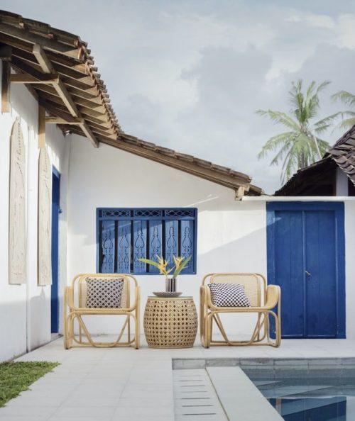 White Home Exterior Design