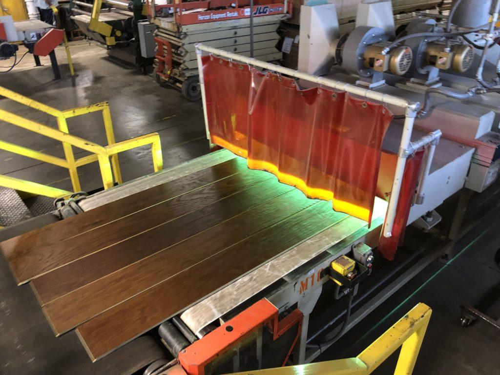 Sealing Hardwood Dark Wood