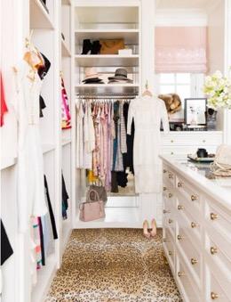 Utah closet by miya interior designers
