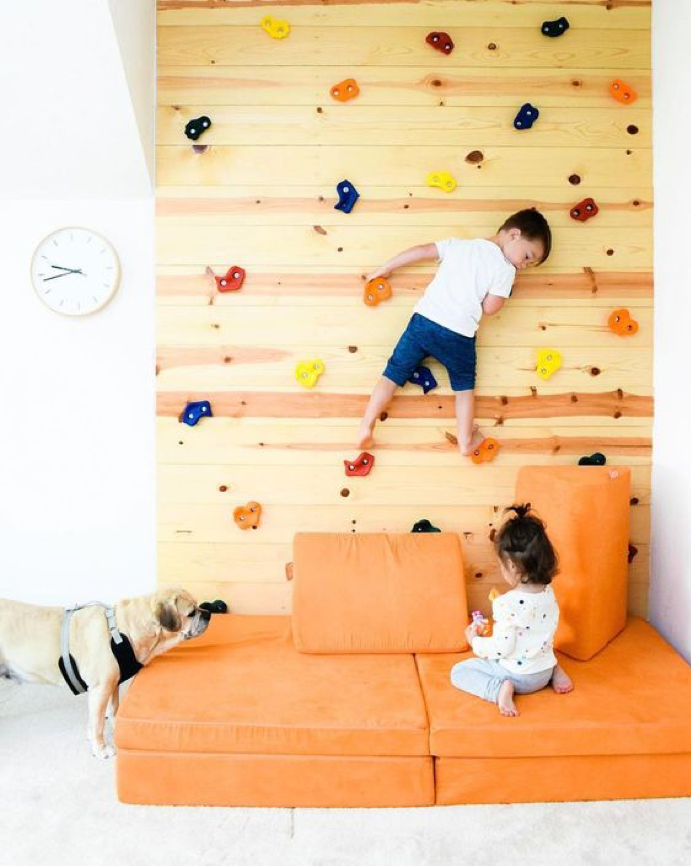 Kids Play Room Climbing Wall