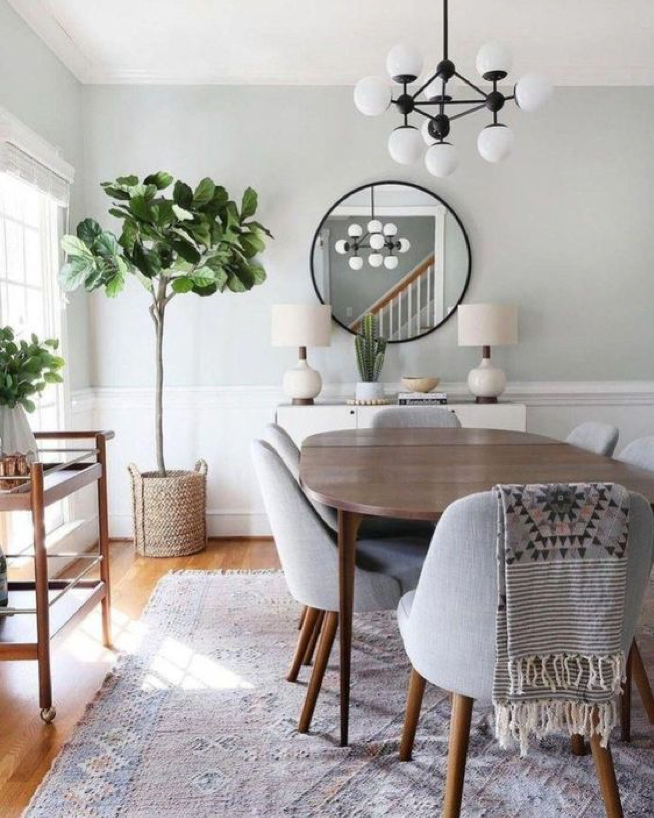 Modern Dining Room Transition