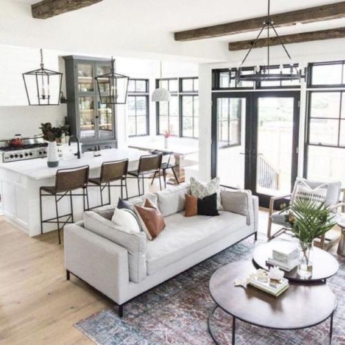 Minimalist Modern Living Room White