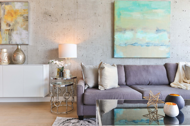 eclectic living room interior design