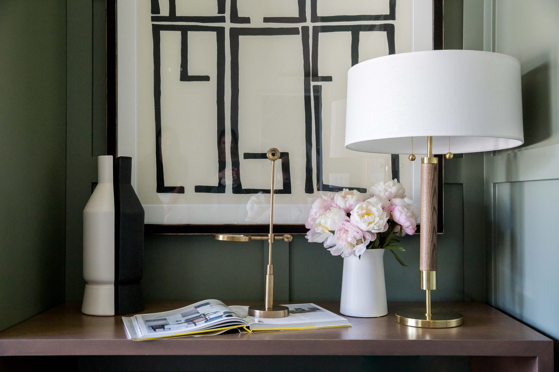 interior design mixing shapes & colors