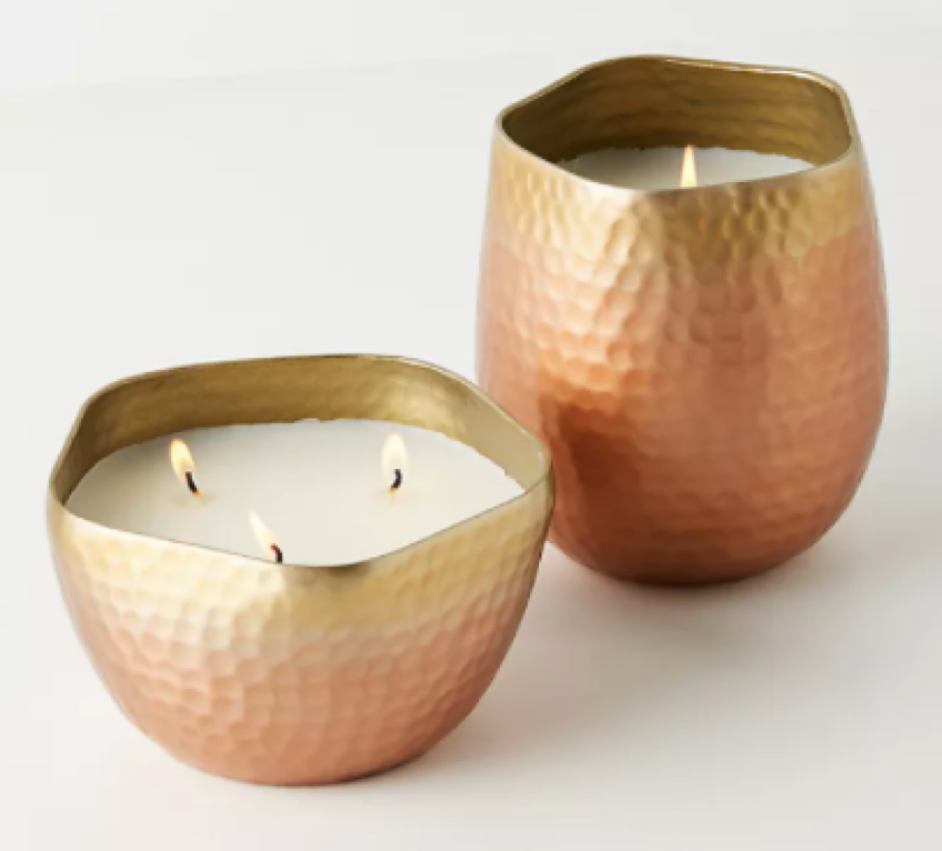 candles for a home office space