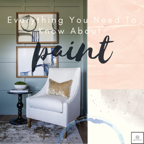 paint trends & interior design practices from Miya Interiors